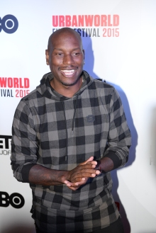 Tyrese Gibson UrbanWorld Film Festival Ambassador. {Photography Credit: Fred Sly}