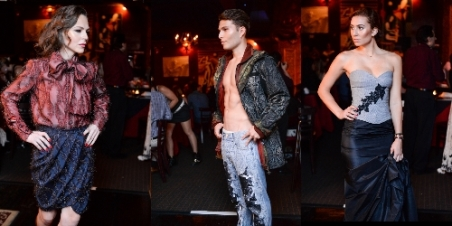 Uomo Moderno New York Fashion Week Show. Photography Credit: Fred Sly