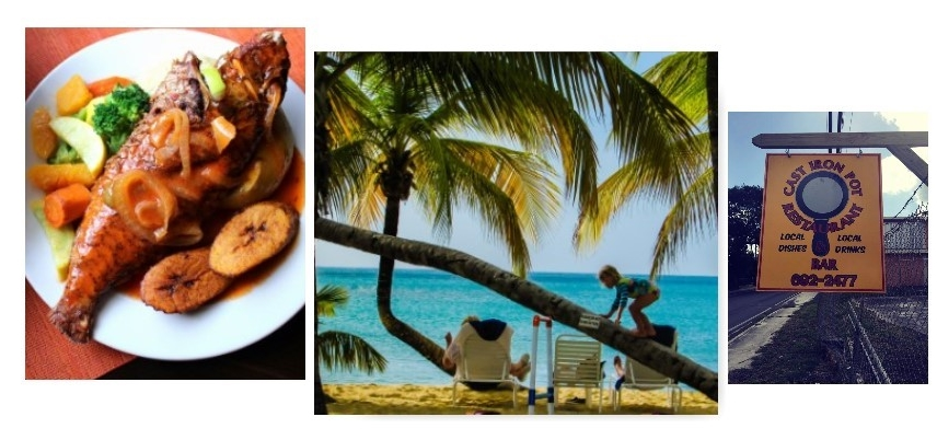 Because this Love is a Shore thing: Chef Burton Peterson of the Cast Iron Pot in St. Croix, U.S. VirginIslands