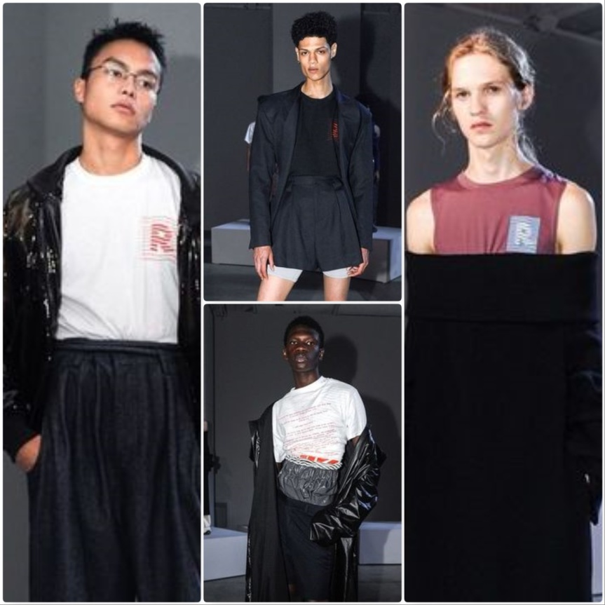 Raun LaRose Spring Summer 2018 Phototastic Collage