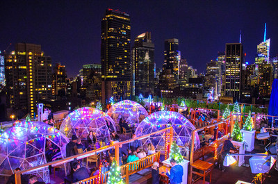 230 Fifth Rooftop Bar - Holiday Lights