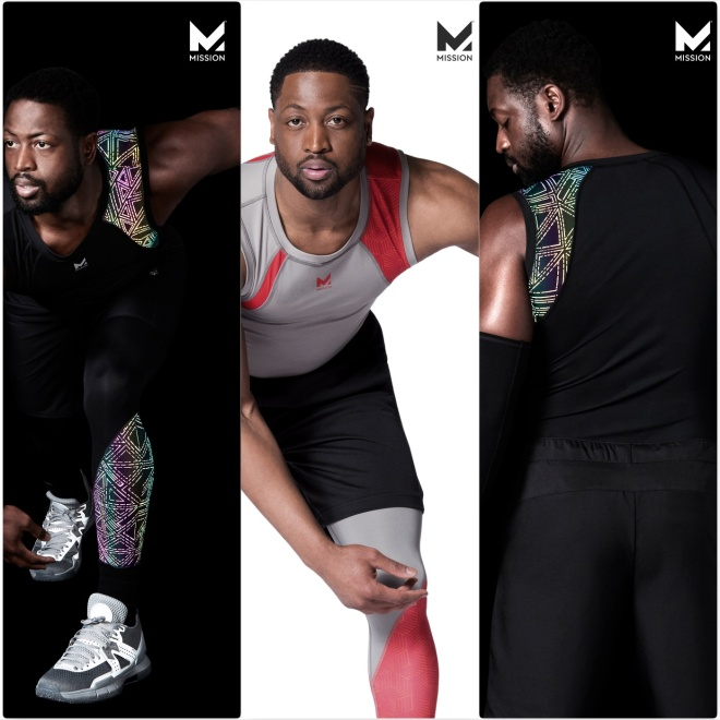 Dwyane Wade in the MISSION New Phototastic Collage