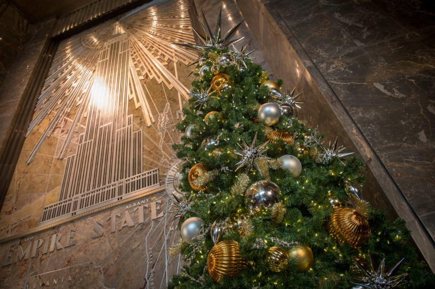 Empire State Building Rings In The Holiday Season With Annual 'ESB Unwrapped' Celebration