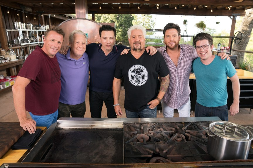 Guy Fieri Invites His Chef-Friends Over For A Sunday Cook-Off On A New Series 'Guy's Ranch Kitchen' On The Food Network