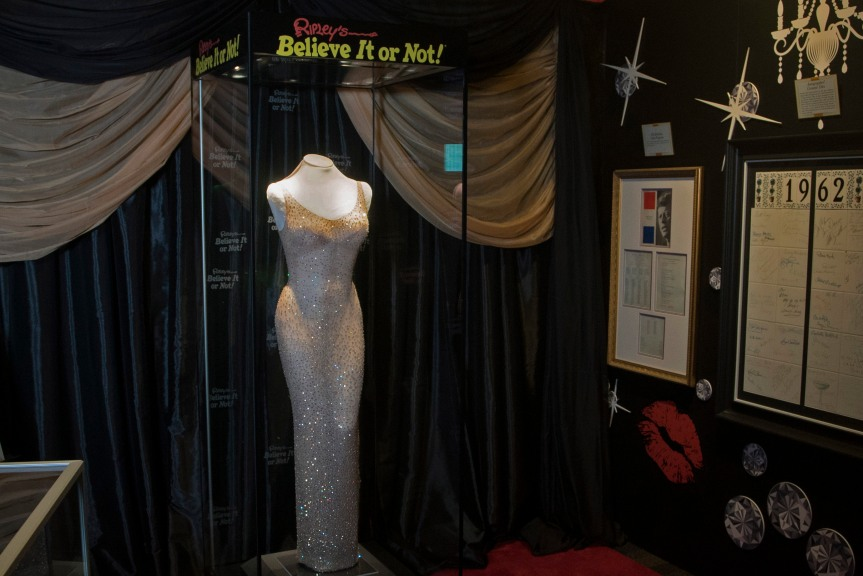 "World's Most Expensive Dress Now On Display At ""Ripley's Believe It or Not!' In Orlando, Florida"