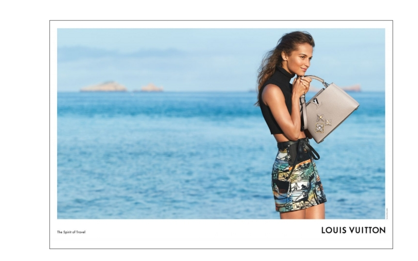 Louis Vuitton presents its Cruise Collection campaign with Alicia Vikander