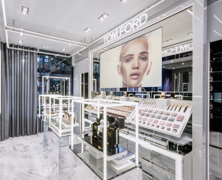 First Tom Ford Beauty Store Opens inLondon